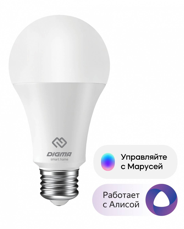 Умная лампа Digma DiLight E27 N1 - фото 1