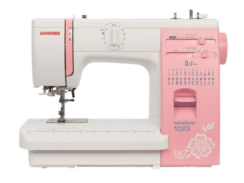 Швейная машина Janome HomeDecor 1023 белый - фото 1