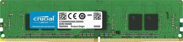 Модуль памяти RDIMM DDR4 1x4Gb Crucial CT4G4RFS8266 - фото 1