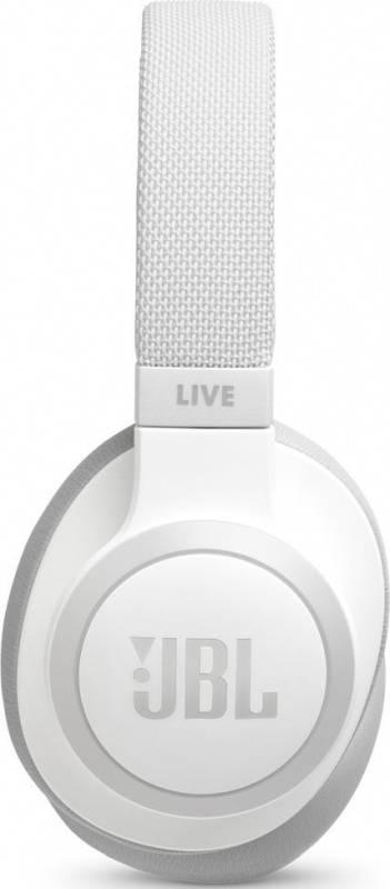 Гарнитура JBL Live 650BTNC белый (JBLLIVE650BTNCWHT) - фото 4