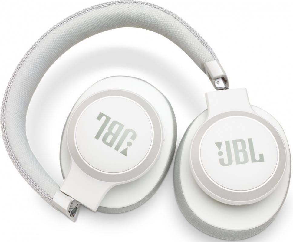 Гарнитура JBL Live 650BTNC белый (JBLLIVE650BTNCWHT) - фото 5