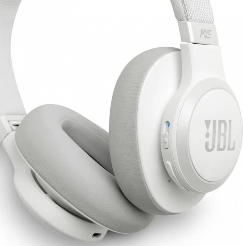 Гарнитура JBL Live 650BTNC белый (JBLLIVE650BTNCWHT) - фото 6