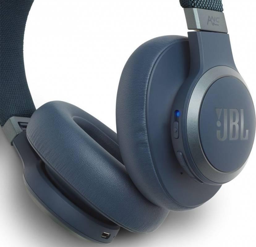 Гарнитура JBL Live 650BTNC синий (JBLLIVE650BTNCBLU) - фото 3
