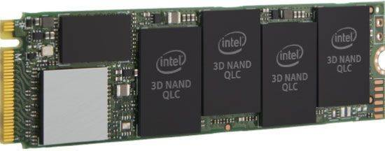 Накопитель SSD 512Gb Intel 660P SSDPEKNW512G8XT PCI-E x4 (SSDPEKNW512G8XT 978349) - фото 1