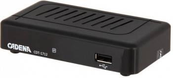 Ресивер DVB-T2 Cadena CDT-1712 (046/91/00047719)