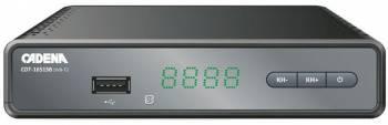 Ресивер DVB-T2 Cadena CDT-1651SB (046/91/00046475)