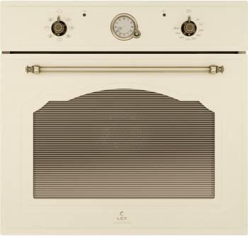 Духовой шкаф электрический Lex EDM 072 C IV стекло слоновая кость (CHAO000334)