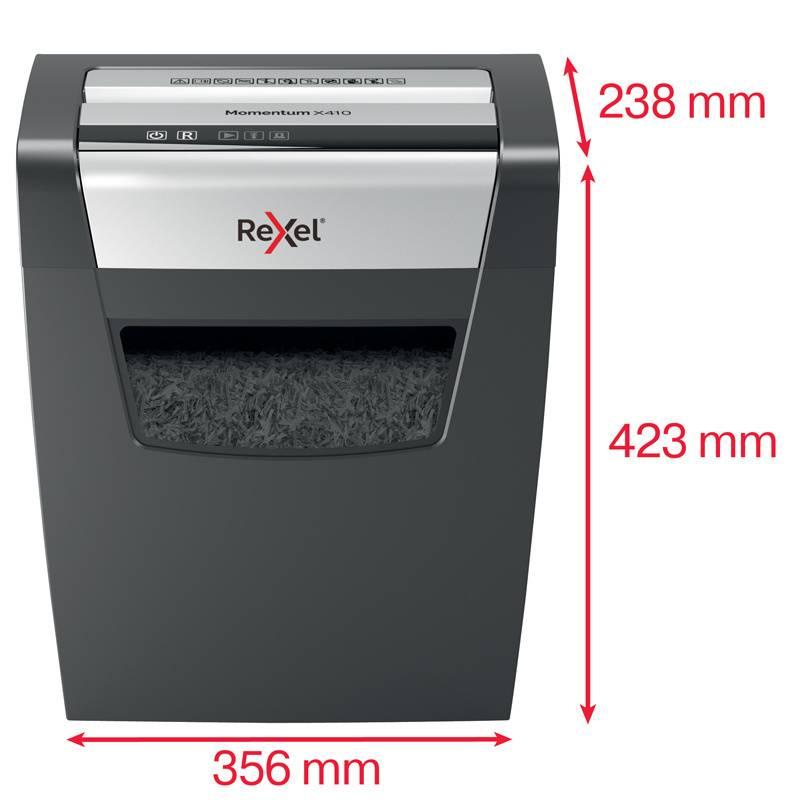 Уничтожитель бумаги Rexel Momentum X410 (2104571EU) - фото 4