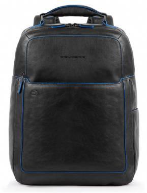 Рюкзак Piquadro B2S черный, кожа натуральная (CA4174B2S/N)