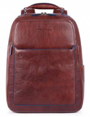 Рюкзак Piquadro B2S темно-коричневый, кожа натуральная (CA4174B2S/TM)