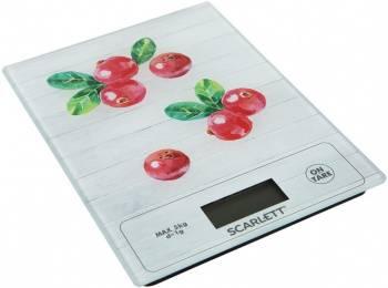 Кухонные весы Scarlett SC-KS57P41 рисунок/брусника (SC - KS57P41)
