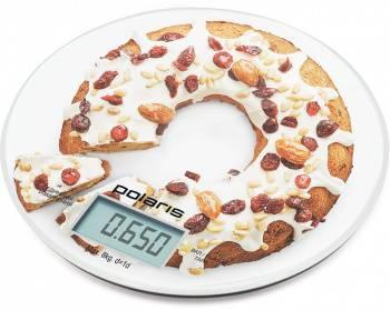 Кухонные весы Polaris PKS 0855DG рисунок
