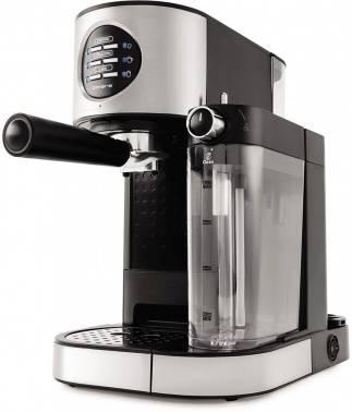 Кофеварка эспрессо Polaris PCM 1530AE Adore Cappuccino нержавеющая сталь/черный (PCM 1530AE)