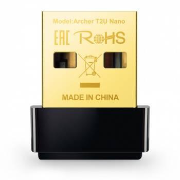 Сетевой адаптер WiFi TP-Link Archer T2U NANO