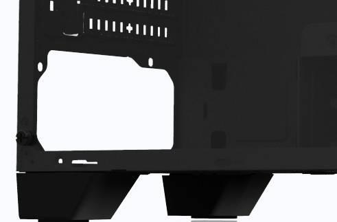 Корпус ATX Zalman S1 черный (S1 BLACK) - фото 6