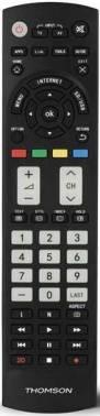 Универсальный пульт Thomson ROC1128PAN черный (00132677)