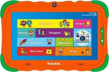 "Планшет 7"" Turbo TurboKids S5 16 оранжевый"