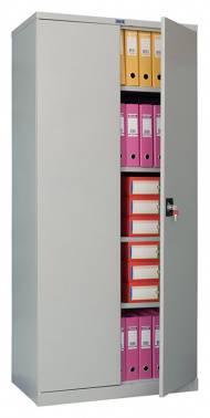 Шкаф архивный Практик CB 14 серый/серый (S20499011402)