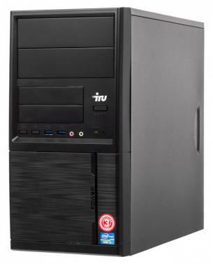 Компьютер IRU Office 312 черный (1122593)