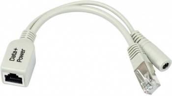 Инжектор MikroTik RBPOE 1x10/100/1PoE 28V w/oPSU