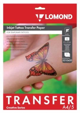 Термотрансфер Lomond Tattoo 2010450 A4 5л. прозрачный