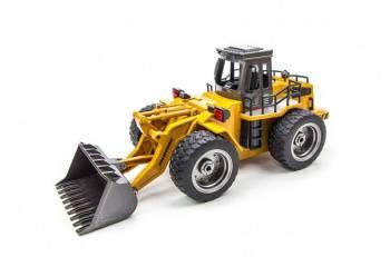 Машина радиоуправляемая Pilotage 6CH Бульдозер пластик желтый (RC47807)