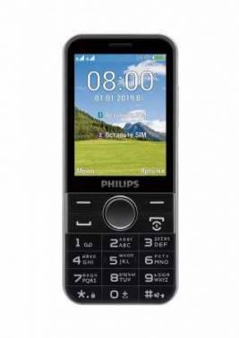 Мобильный телефон Philips Xenium E580 черный (867000157667)