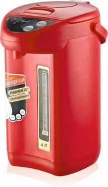 Термопот Великие Реки Чая-7 красный/черный (плохая упаковка)