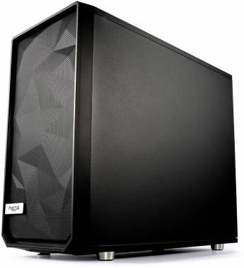 Корпус E-ATX Fractal Design Meshify S2 Blackout TG Dark черный (FD-CA-MESH-S2-BKO-TGD)