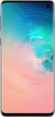 Смартфон Samsung Galaxy S10 SM-G973F 128ГБ белый/перламутр (SM-G973FZWDSER)