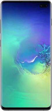 Смартфон Samsung Galaxy S10+ SM-G975F 128ГБ зеленый (SM-G975FZGDSER)