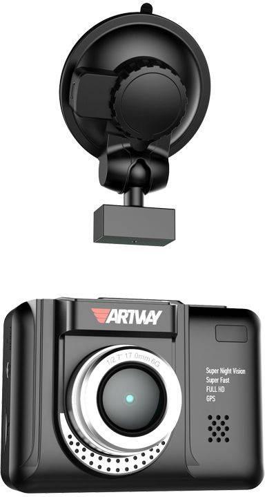 Видеорегистратор с антирадаром Artway COMBO MD-106 (MD-106) - фото 1