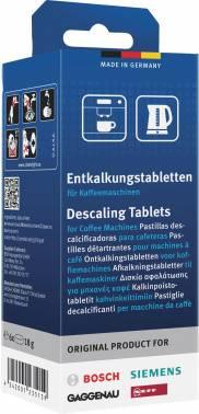 Очищающие таблетки для кофемашин Bosch 00311864 18гр., в упаковке 6шт.