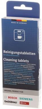 Очищающие таблетки для кофемашин Bosch 00311969, в упаковке 10шт.