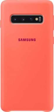 Чехол Samsung Silicone Cover, для Samsung Galaxy S10, розовый (EF-PG973THEGRU)