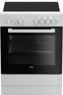 Плита электрическая Beko FFSS67000W белый/черный