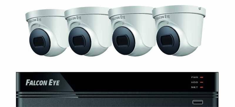 Комплект видеонаблюдения Falcon Eye FE-104MHD Дом SMART (FE-104MHD KIT ДОМ SMART) - фото 1