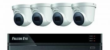 Комплект видеонаблюдения Falcon Eye FE-104MHD Дом (FE-104MHD KIT ДОМ SMART)