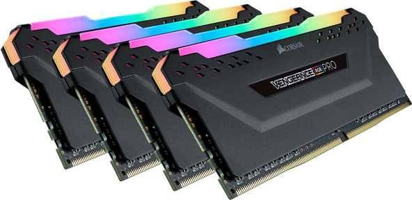 Модуль памяти DIMM DDR4 4x16Gb Corsair (CMW64GX4M4C3466C16) - фото 2