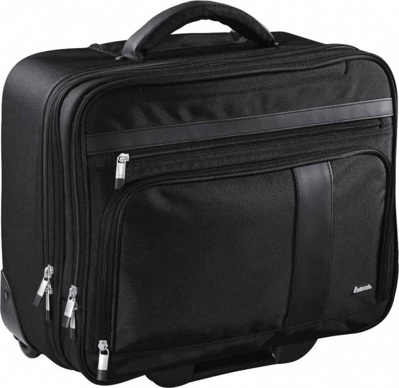 """Сумка для ноутбука 15.6"""" Hama Dublin Notebook-Trolley черный (00101279) - фото 1"""