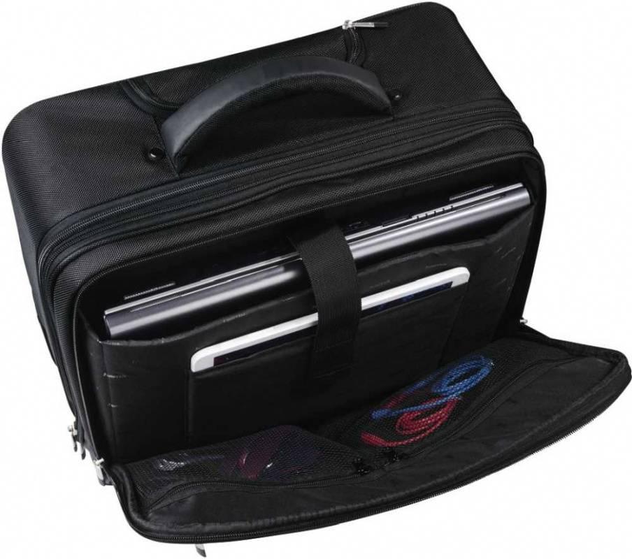 """Сумка для ноутбука 15.6"""" Hama Dublin Notebook-Trolley черный (00101279) - фото 3"""