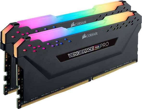 Модуль памяти DIMM DDR4 2x8Gb Corsair Vengeance RGB Pro (CMW16GX4M2C3200C16) - фото 2
