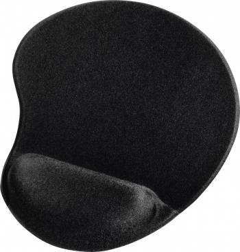 Коврик для мыши Hama Ergonomic черный (00054779)