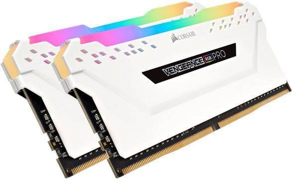 Модуль памяти DIMM DDR4 2x16Gb Corsair (CMW32GX4M2A2666C16W) - фото 2