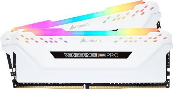 Модуль памяти DIMM DDR4 2x8Gb Corsair (CMW16GX4M2A2666C16W) - фото 1