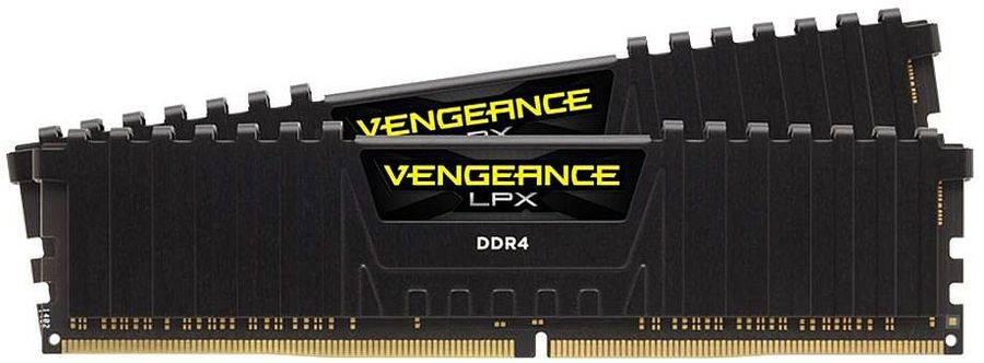 Модуль памяти DIMM DDR4 2x8Gb Corsair (CMK16GX4M2C3333C16) - фото 1