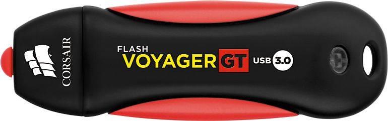 Флешка Corsair Voyager GT 32ГБ USB3.0 черный/красный (CMFVYGT3C-32GB) - фото 2