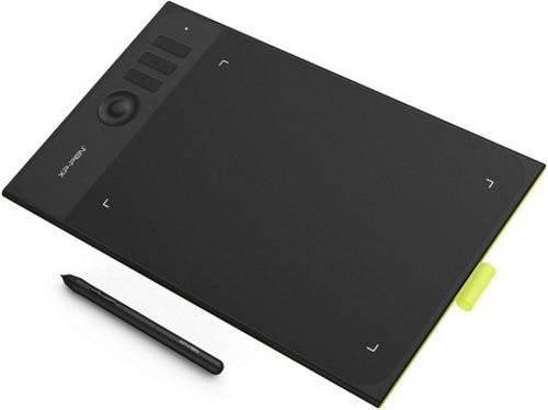 Графический планшет XP-Pen Star 06C фисташковый/черный (STAR06C) - фото 3