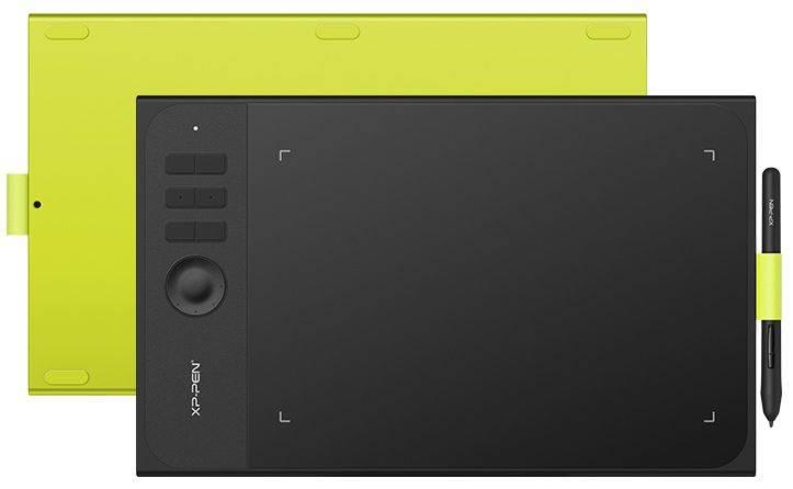Графический планшет XP-Pen Star 06C фисташковый/черный (STAR06C) - фото 6