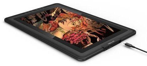 Графический планшет XP-Pen Artist 15.6 черный (ARTIST15.6) - фото 5